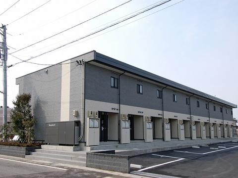 マツキドライビングスクール新潟西しばた校:レオパレス21カルミアA・B(写真はイメージです)