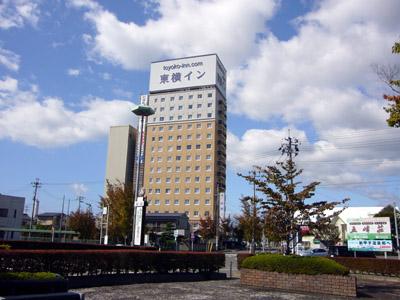 南湖自動車学校:ホテル 東横イン新白河駅前(写真はイメージです)