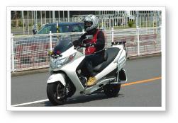 普通二輪車AT (大型車・普通車・大特車免許所持の方対象)(写真はイメージです)