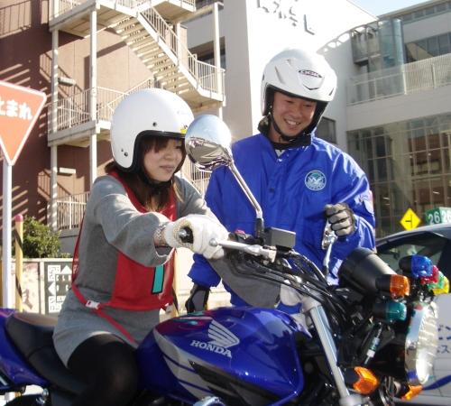 普通自動二輪免許マニュアル・ベーシックプラン【所持免許なし】(写真はイメージです)