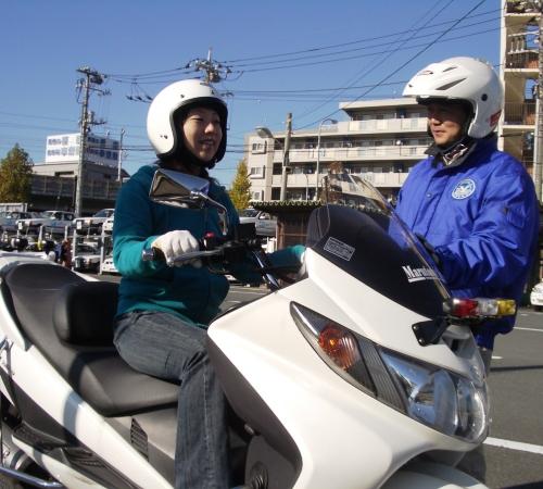 普通自動二輪免許オートマチック・ベーシックプラン【普通免許所持】(写真はイメージです)