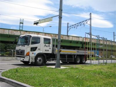 大型車 (※中型8t限定免許所持者)(写真はイメージです)