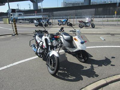 小型二輪MT (普通・準中型・中型・大型免許のいずれか所持)(写真はイメージです)