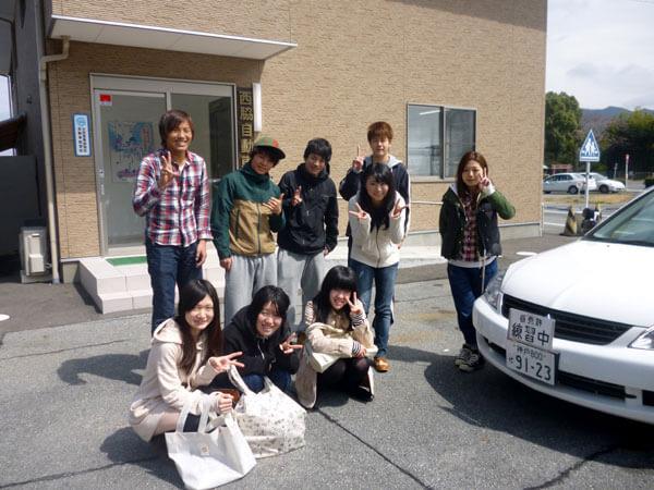 【合宿】普通車MT 相部屋 (初めての方/原付免許所持の方)(写真はイメージです)