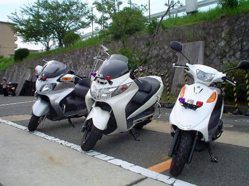【通学】小型二輪AT 標準コース(免許なし)(写真はイメージです)