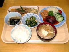 山形県・マツキドライビングスクール 太陽校・食事例