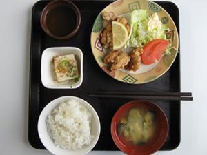 静岡県・静岡県セイブ自動車学校・食事例