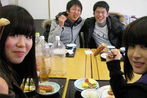 岡山県・備前自動車岡山教習所・食事例