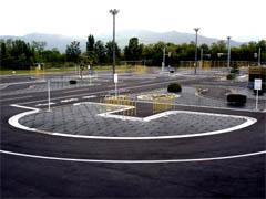 山形県・マツキドライビングスクール 太陽校・教習の様子