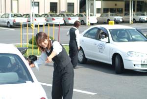 茨城県・大宮自動車教習所・教習の様子