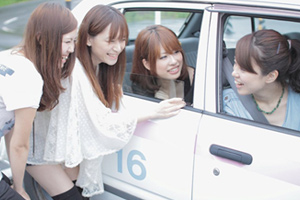 静岡県・富士センチュリーモータースクール・教習の様子