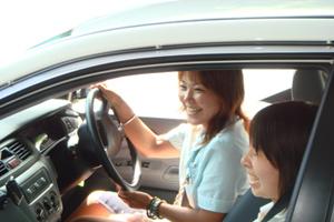 岡山県・新見自動車教習所・教習の様子