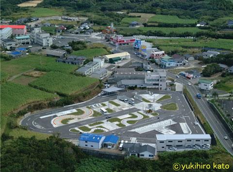 鹿児島県・種子島自動車学校・教習の様子