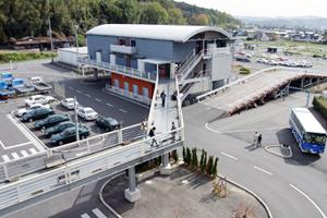 岡山県・勝英自動車学校・コース風景