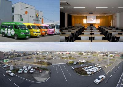 東海自動車学校の教習所写真