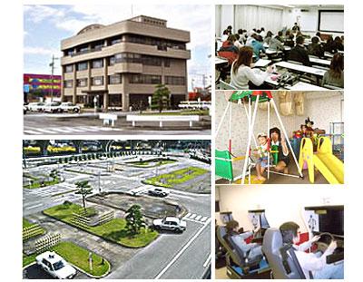 尾西自動車学校の教習所写真