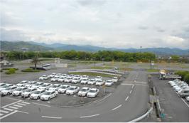 甘木自動車学校の教習所写真