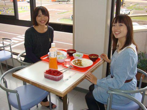 新潟県・新潟中央自動車学校・食事例