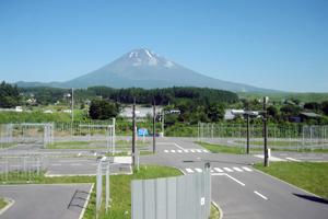 静岡県・富士センチュリーモータースクール御殿場校・教習の様子
