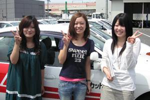 岡山県・倉敷マスカット自動車学校・教習の様子