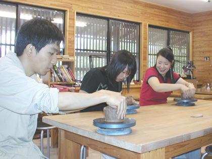陶器作り体験