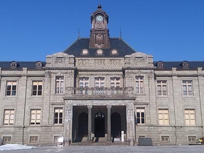 旧県庁の文翔館