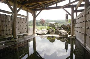 蘭寿苑 露天風呂