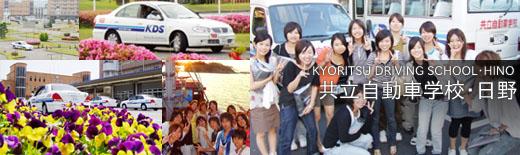 共立自動車学校・日野