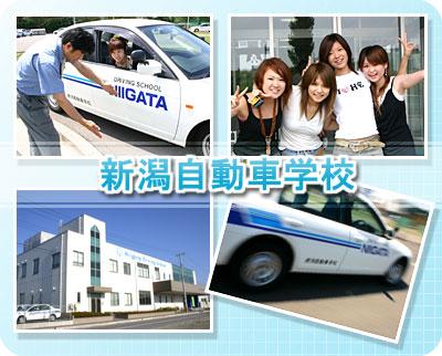 新潟自動車学校の教習所写真